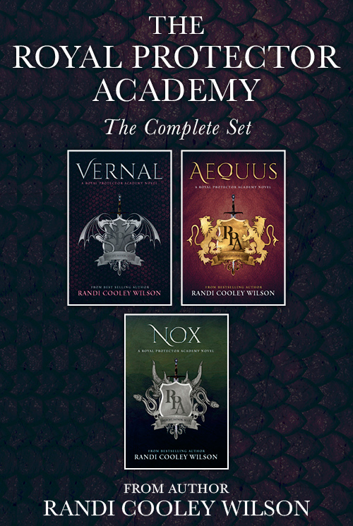 The Complete Royal Protector Academy Series