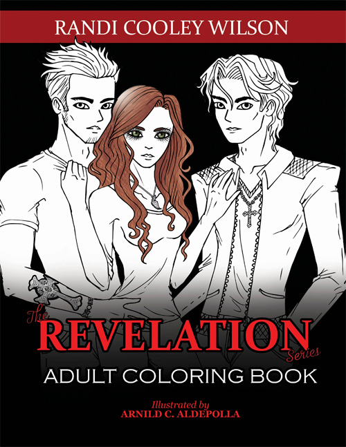 The Revelation Series Adult Coloring Book