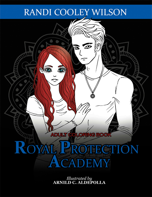 The Royal Protector Academy Series Coloring Book