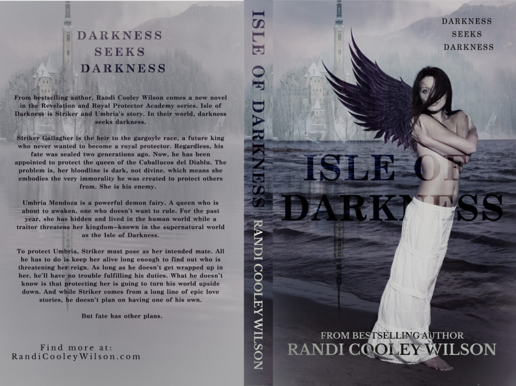 Isle of Darkness Cover Reveal! - Author Randi Cooley Wilson